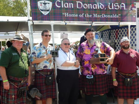 2018 Clan Donald Winner