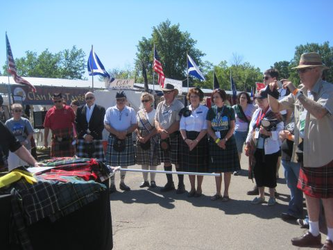 Blessing of the Tartans